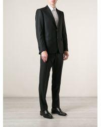 Ferragamo Black Formal Suit - Lyst