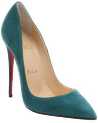 Christian Louboutin Forest Suede 'So Kate 120' Stiletto Pumps - Lyst