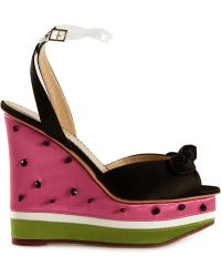 Charlotte Olympia 'Nice Melons' Sandals - Lyst