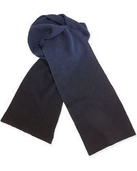 Vince Mens Dip Dyed Scarf - Lyst