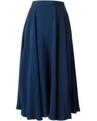 Peter Jensen Long Skirt - Lyst