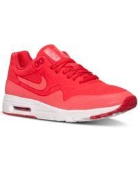 Nike Women'S Air Max 1 Ultra Moire Running Sneakers From Finish Line - Lyst