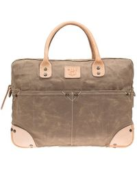 Will Leather Goods - Canvas Flight Bag - Lyst
