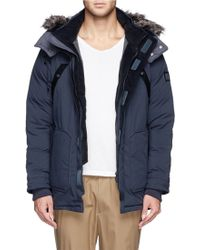 White Mountaineering - Winderstoppe® Padded Parka - Lyst