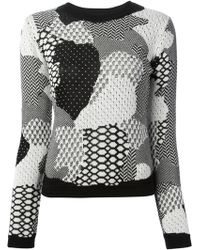 Opening Ceremony Patterned Knit Sweater - Lyst