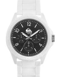 Quiksilver - Chronograph Bracelet Watch - Lyst