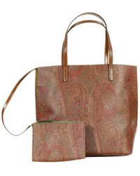 Etro Arnica Tote Pelle Stampa Paisley - Lyst