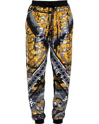 Versus  Hero Print Tracksuit Bottoms - Lyst