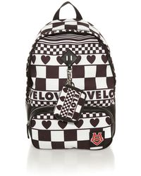 Love Moschino Black and White Pack Pack - Lyst