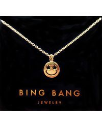 Bing Bang Happy Eyes Necklace - Lyst