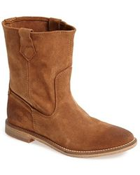 H by Hudson 'Hanwell' Slouchy Suede Boot - Lyst