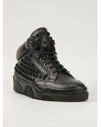 Philipp Plein - Embellished Star Hitop Trainers - Lyst