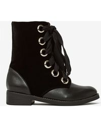 Nasty Gal Jeffrey Campbell Johana Leather Boot - Lyst