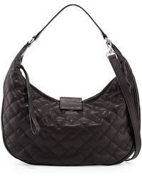Marc By Marc Jacobs Big Moto Quilted Banana Bag - Lyst