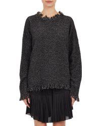 Isabel Marant Birdseye Bouclé Daniel Cowens Sweater - Lyst