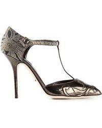 Dolce & Gabbana Bellucci Pumps - Lyst