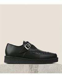 Underground Apollo Leather Creepers - For Women - Lyst