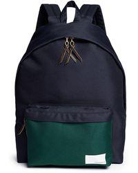 Nanamica - Contrast Pocket Cordura® Twill Backpack - Lyst