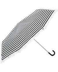Forever 21 - Striped Ruffle-trim Umbrella - Lyst
