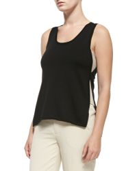 Nanette Lepore Wilderness Tank W Contrast Sides - Lyst