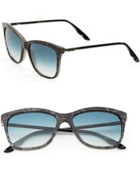 B Brian Atwood - 55mm Square Sunglasses - Lyst