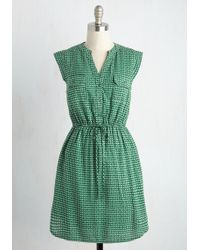 Sunny Girl Pty Lltd - A Way With Woods Dress In Pine - Lyst