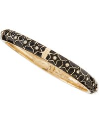 Sequin - Skinny Stars Bangle - Lyst