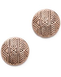 House of Harlow 1960 - Tholos Mosaic Stud Earrings - Lyst