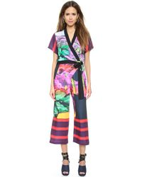 Clover Canyon - Painted Garden Jumpsuit - Multi - Lyst