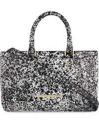Roland Mouret - Mini Maxi Python Leather Tote - Lyst