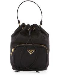 41e8e177ccf9 Lyst - Prada Tessuto - Women s Prada Tessuto Bags