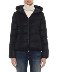 Duvetica - Thiadue Navy Quilted Down Jacket - Lyst