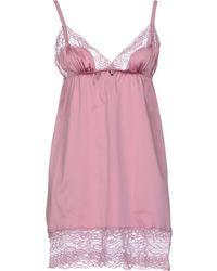 Emporio Armani Pink Nightgown - Lyst