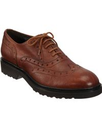 Barneys New York Brogue Oxford - Lyst