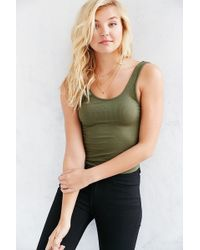 Silence + Noise - Mesa Scoop Back Tank - Lyst