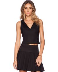 Alice + Olivia Lyla Fitted Tank - Lyst