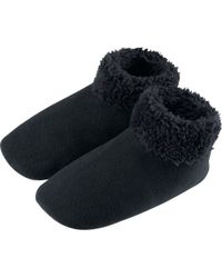 Uniqlo Women Fleece Socks Solid - Lyst
