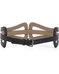 BCBGMAXAZRIA Cutout Buckle Waist Belt - Lyst