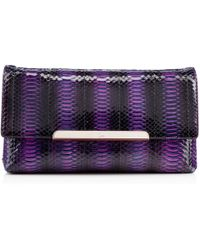 Christian Louboutin Purple Rougissime Clutch - Lyst