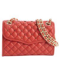 Rebecca Minkoff Scarlet Quilted Leather Studded Detail Mini Affair Shoulder Bag - Lyst