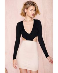 Nasty Gal Secret Crush Dress pink - Lyst