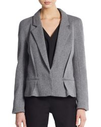 Haider Ackermann Wool-Blend Jacket gray - Lyst