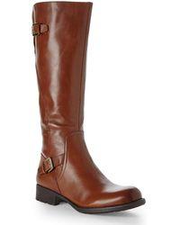 Franco Sarto Tan Perk Riding Boots brown - Lyst