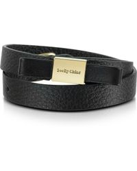 See By Chloé - Nora Leather Bracelet - Lyst
