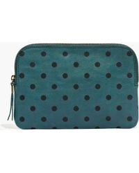 Madewell The Medium Pouch Clutch in Dot - Lyst