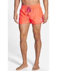 Diesel 'Bmbx-Coralrif-E' Swim Trunks orange - Lyst
