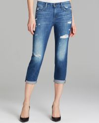 Joe's Jeans Slim Straight Crop in Sloane - Lyst