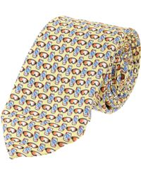 Lazyjack Press - Beer and Goggles Print Tie - Lyst