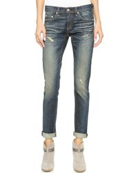 Rag & Bone The Dre Slim Bf Jeans - Phoenix - Lyst