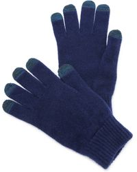Paul Smith - Bright Wool Gloves - Lyst